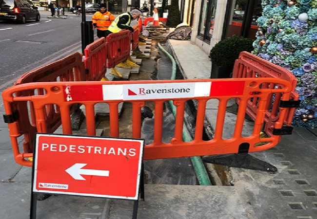 Footway Works – Knightsbridge and Sloane Street